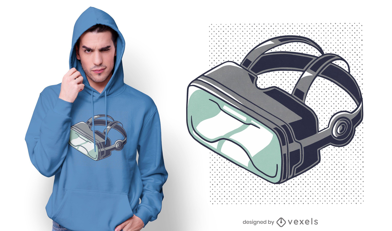 VR Glasses t-shirt design