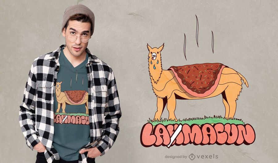 Lahmacun t-shirt design