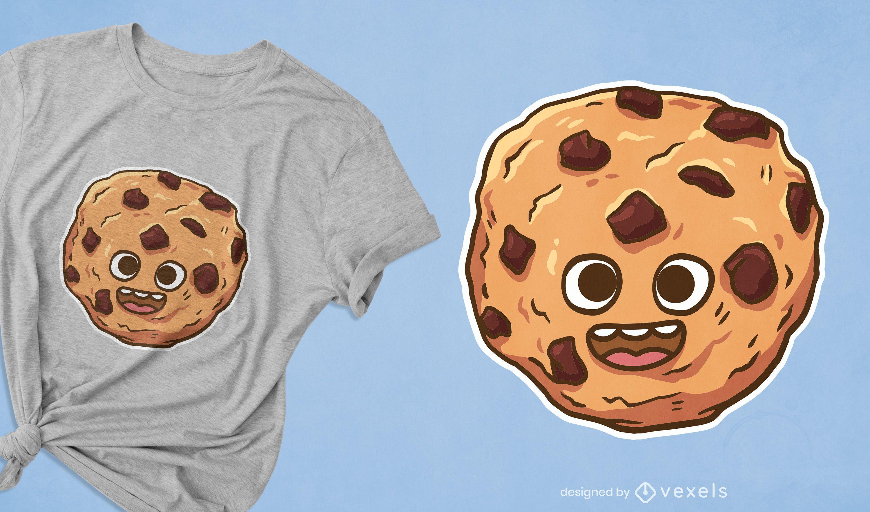 Cute cookie t-shirt design