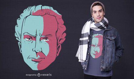 Design da camiseta Immanuel kant