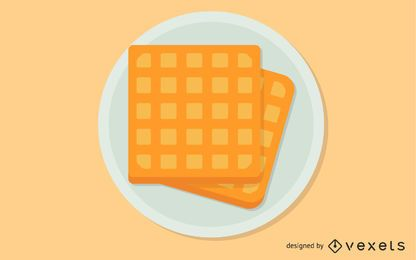 Galería de imágenes de waffle