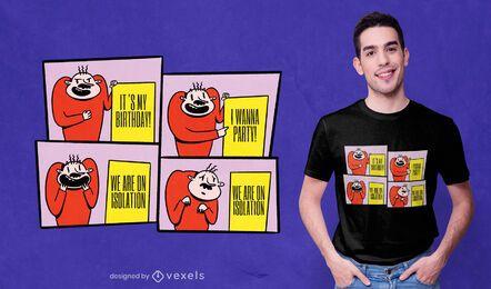 Diseño de camiseta Board meme