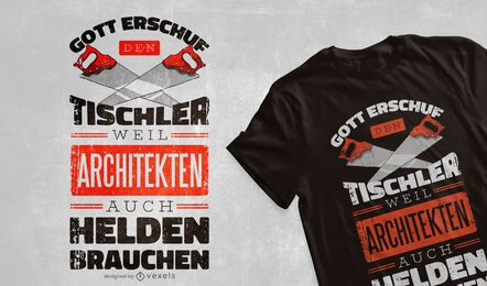 Zimmermann Helden T-Shirt Design