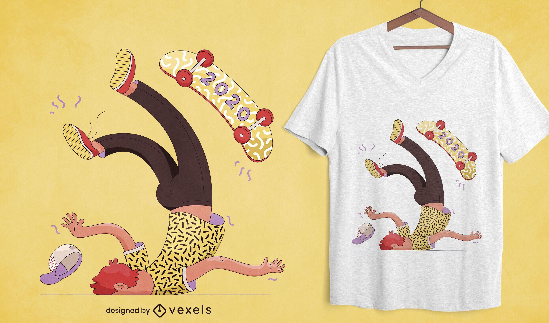 Anti 2020 t-shirt design