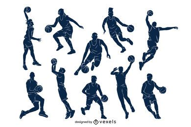 Basketball player set design