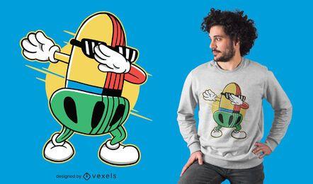 Diseño de camiseta eichel dabbing