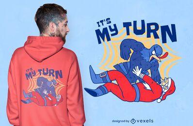 Turkey vs santa t-shirt design