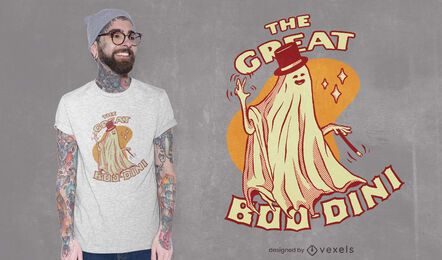Great boo-dini t-shirt design