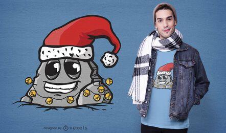 Diseño de camiseta Jingle Bell Rock