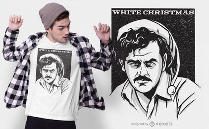 Pablo christmas t-shirt design