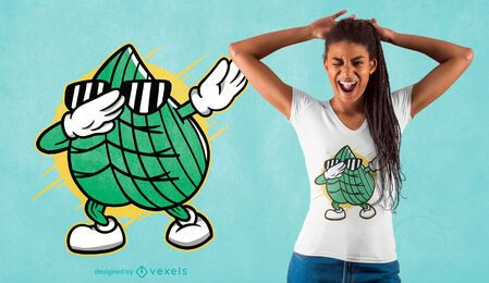 Diseño de camiseta gras dabbing