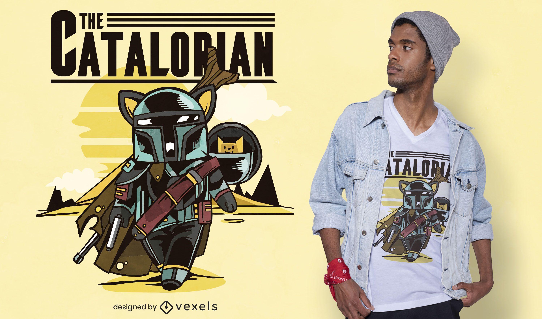 The catalorian t-shirt design