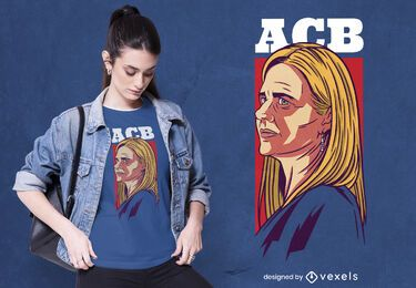 Amy coney barrett t-shirt design