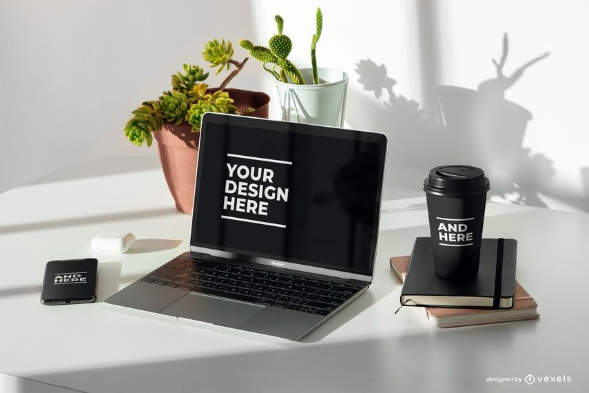 Devices psd mockup composition