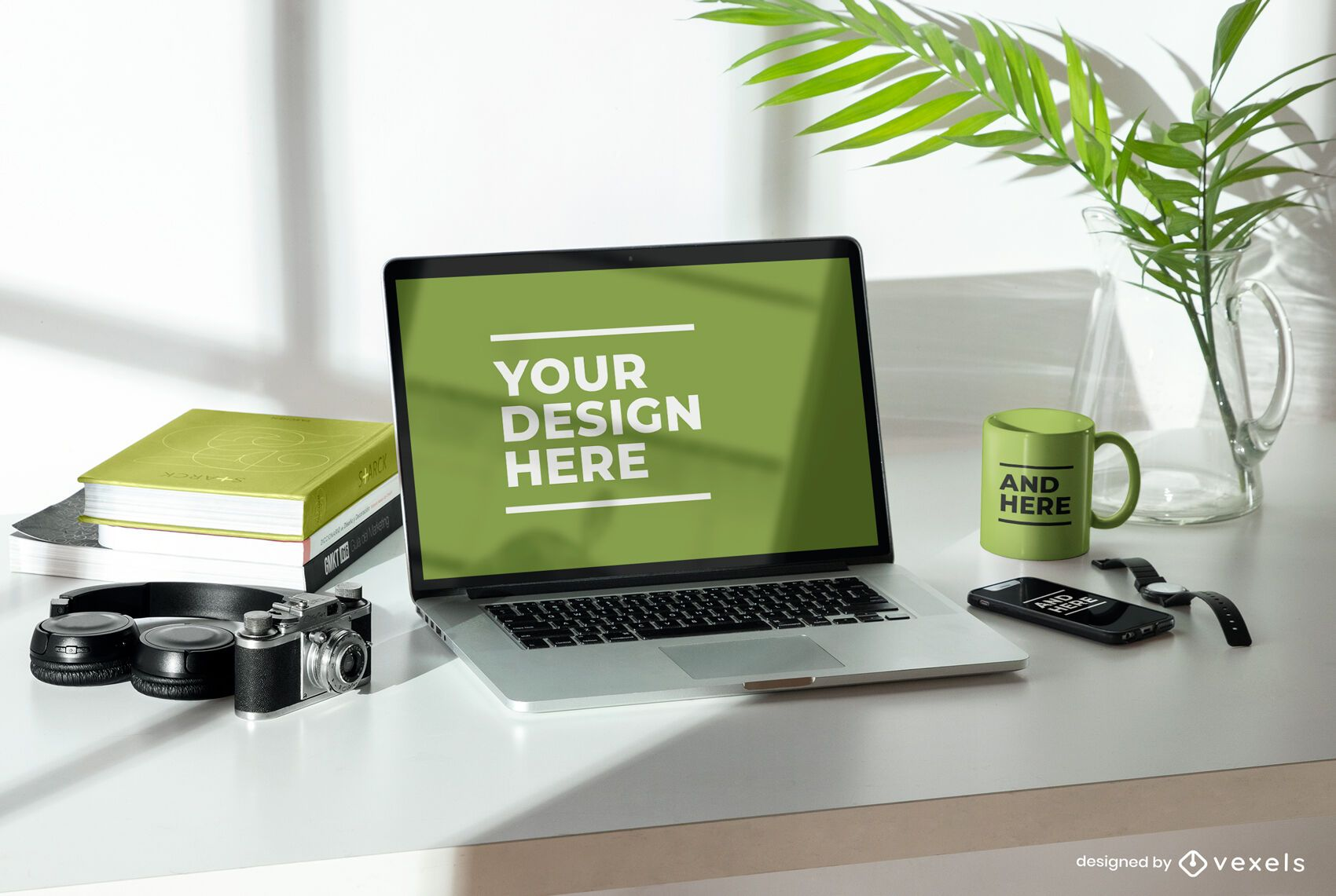 Devices mockup composition psd