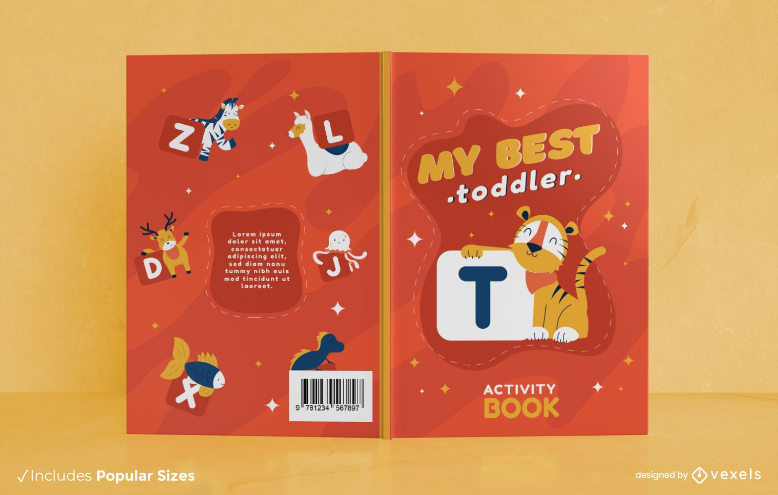 My best toddler book cover design