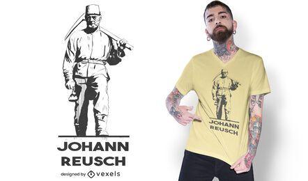 Johann Friedrich Reusch t-shirt design