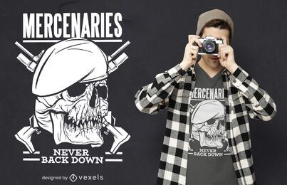 Mercenaries t-shirt design
