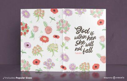 Deus está dentro do design da capa do livro