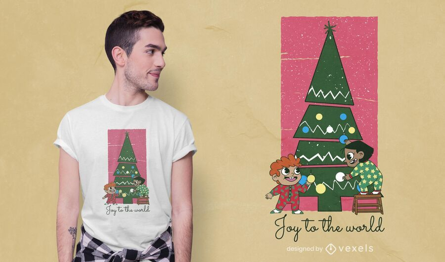 Christmas kids t-shirt design