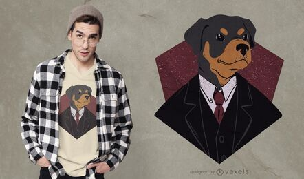 Geeigneter Hund T-Shirt Design