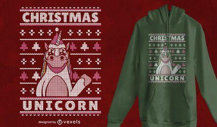 Hässliche Pullover Weihnachten T-Shirt Design