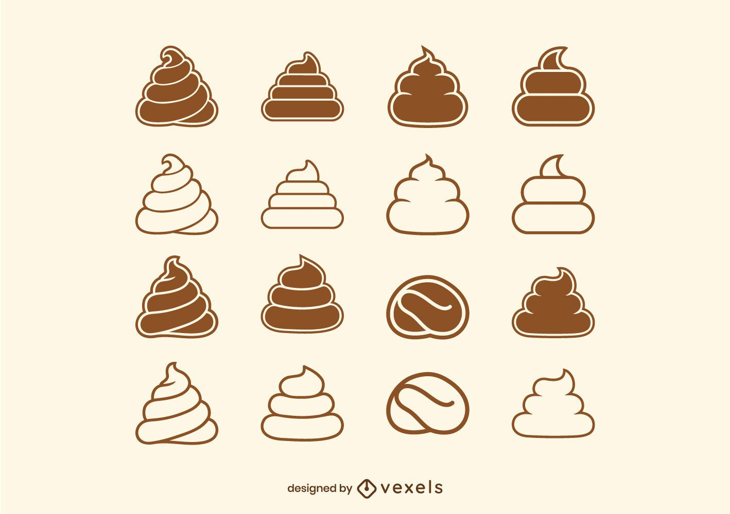 Poop vector collection
