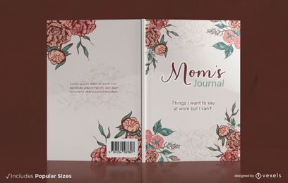 Mom's journal book cover design