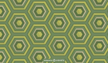 Tortoise shell pattern design