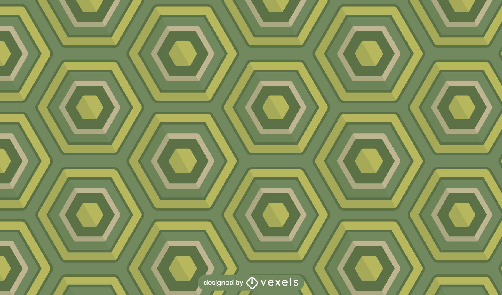 Tortoise shell pattern design