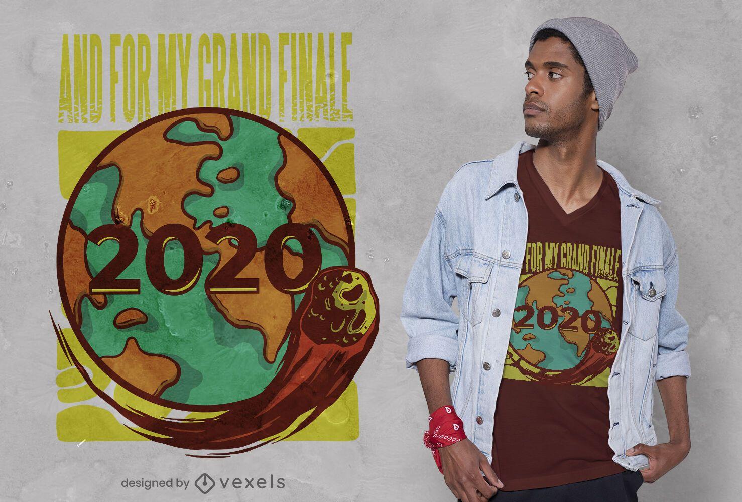 2020 grand finale t-shirt design
