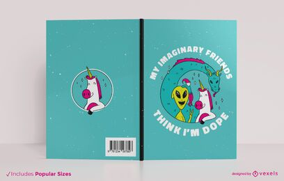 Imaginary friends book cover design