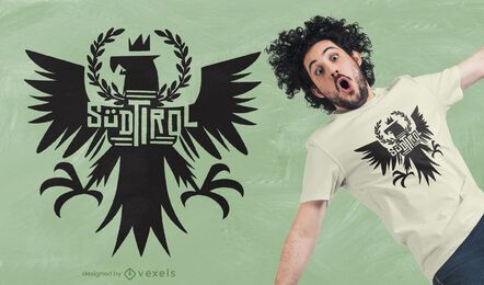Tyrolean eagle t-shirt design