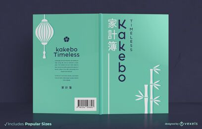 Kakebo book cover design