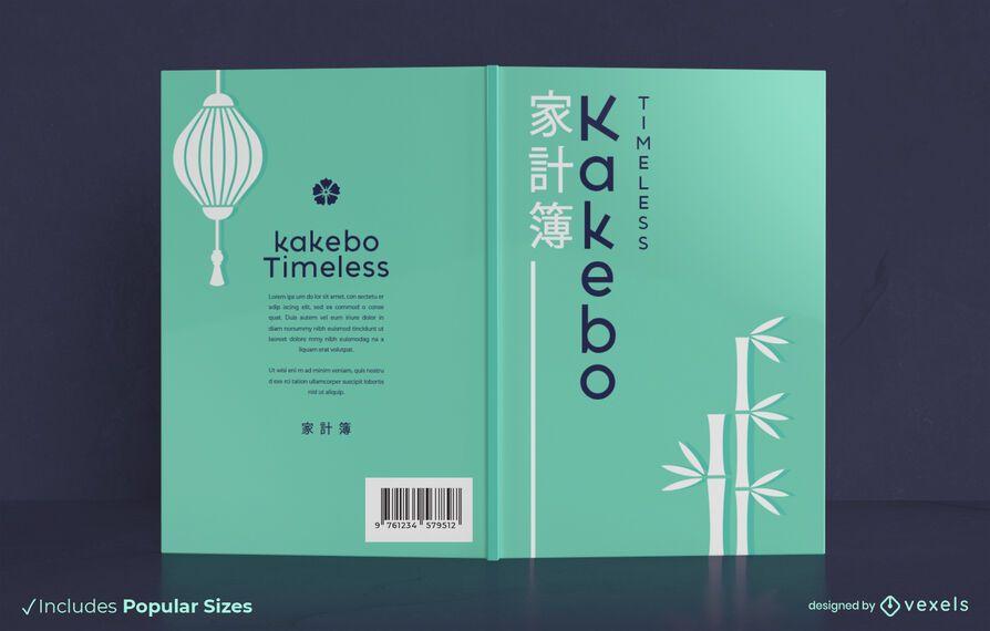 Diseño de portada de libro Kakebo