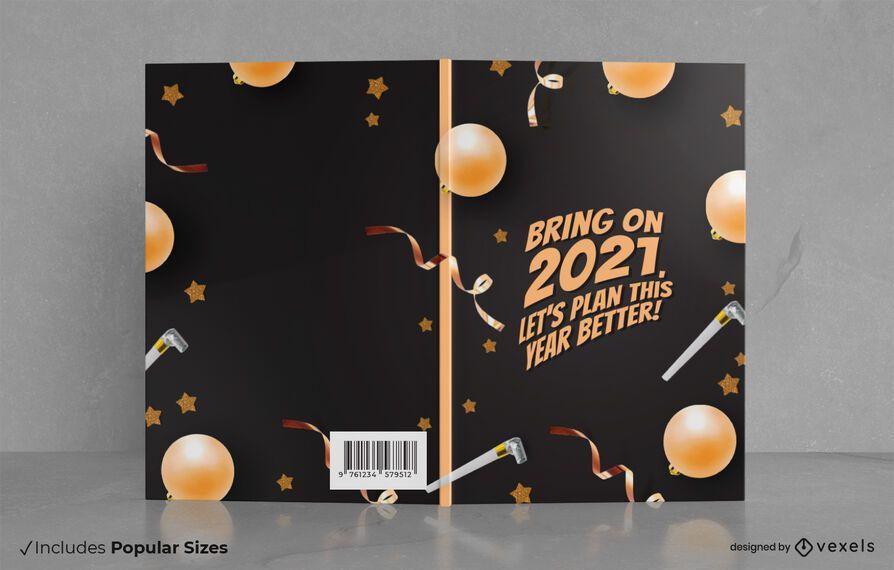 Traiga el diseño de la portada del libro 2021