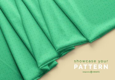 Design de maquete de tecido