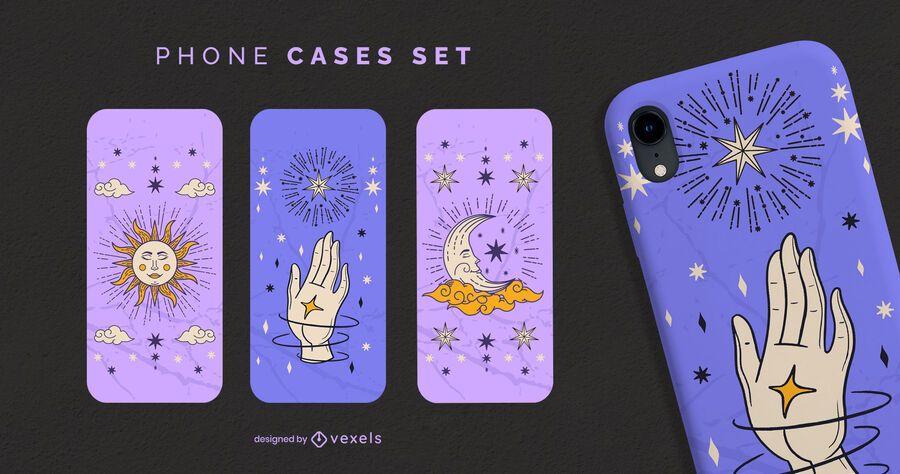 Astrology phone cases set