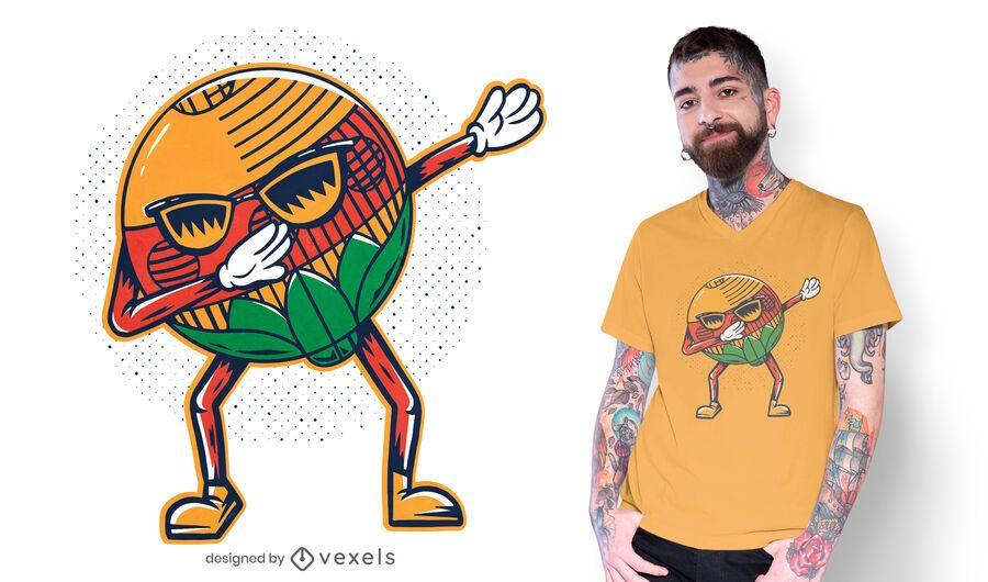 Diseño de camiseta de Schellen dabbing