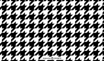 Houndstooth pattern design