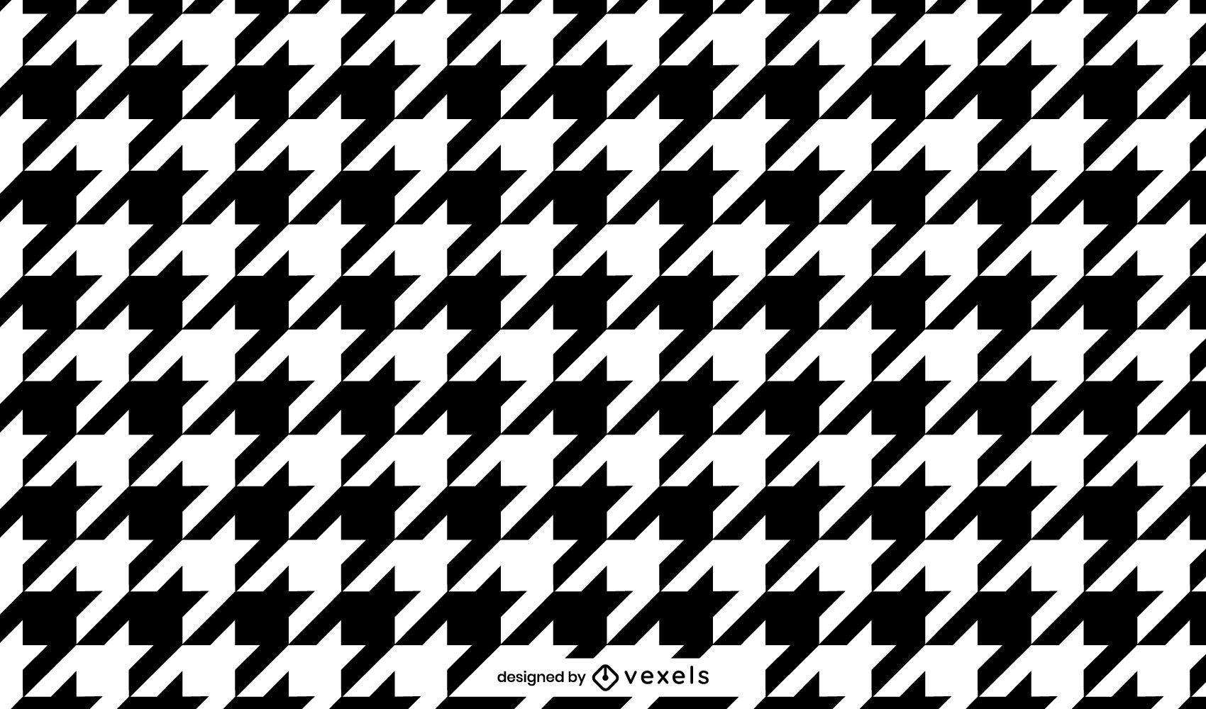 Houndstooth pattern design