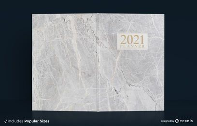 2021 Marmor Buchumschlag Design