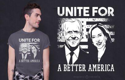 Ein besseres Amerika T-Shirt Design