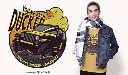 Ducking amazing t-shirt design
