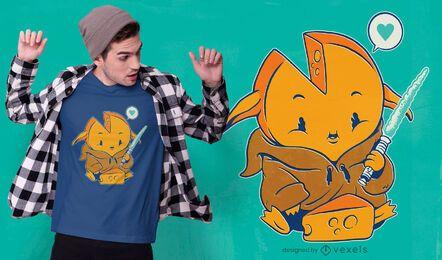 Diseño de camiseta baby gouda