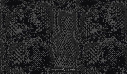 Diseño de patrón de piel de serpiente negra
