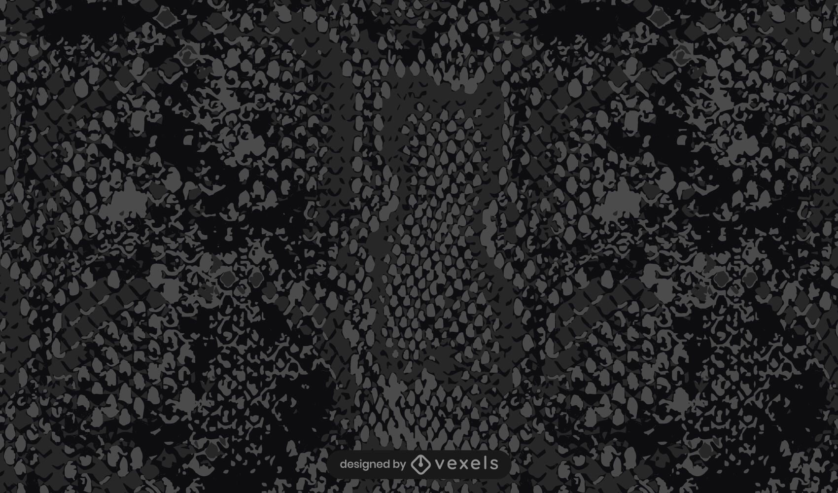 Black snake skin pattern design