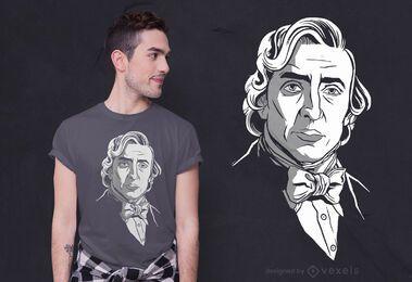Frederic Chopin t-shirt design