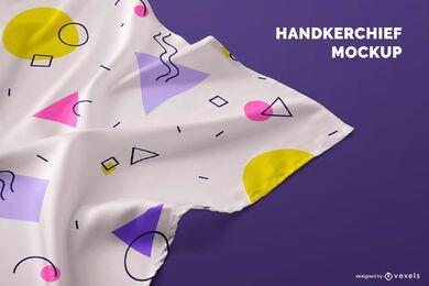 Handkerchief detail mockup
