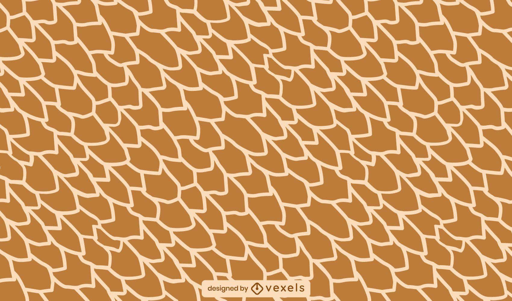 Desenho de padrão de pele de girafa